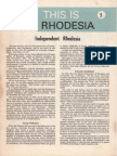 This is Rhodesia