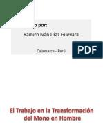 eltrabajoenlatransformacindelmonoenhombre- Ramiro Iván Díaz Guevara