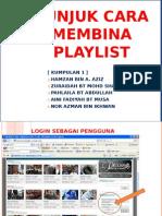 Tunjuk Cara EduWeb TV - Playlist