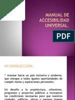 CLASE N° 20 MANUAL DE ACCESIBILIDAD UNIVERSAL