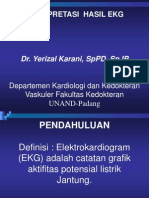 Interpretasi Hasil Ekg
