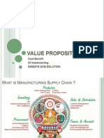 Manufacturing Value Proposition by Ginesys