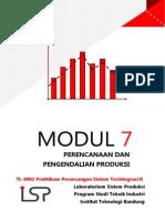 Modul 7 Perencanaan & Pengendalian Produksi