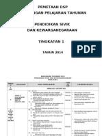 Pemetaan Psk Pbs Ting 1 2014