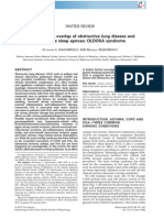 Integrating the overlap of obstructive lung disease and obstructive sleep apnoea