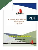 Treasury Markets Certification