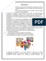 INTRODUCCIÓN Y CONCLUSION DE DIDACTICA
