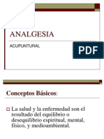 Analgesia Acupuntural