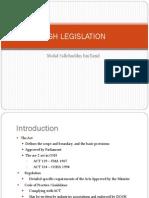 2.0 Osh Legislation