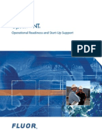 Upfront Fluor Operational Readiness and Start-Up Support