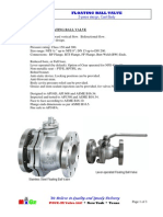 MIGZ Floating Ball Valve, CastBody,2pc 2014