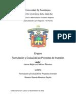 Ensayo f y e Proyectos de Inv Magre Jaime Michel Ramirez