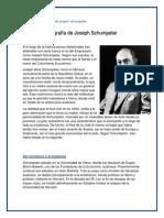 Biografía breve de joseph schumpeter