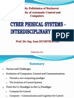 1. Cyber Phisical Systems - Interdisciplinary Vision
