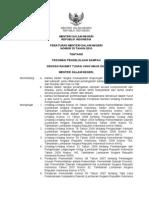 Permen Dalam Negeri No 33 Tahun 2010 Tentang Pedoman Pengelolaan Sampah
