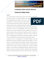 JWMG Conflict Between Islam and the West Jan 2010