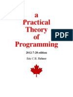A Practical Theory of Programming