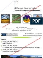 The EUCALAND Networkk (Michael Roth)