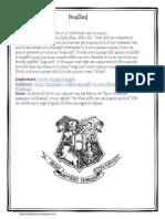 Hogwarts Poudlard