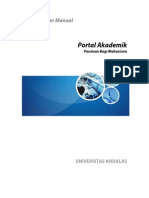 Portal Akademik Mahasiswa