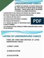 Underground Cables2003