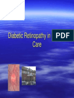 Diabetic Retin Primary Care