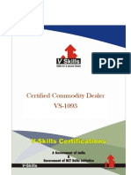 Commodity Dealer Certification