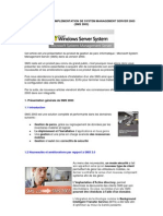 Presentation Et Implementation de System Management Server 2003