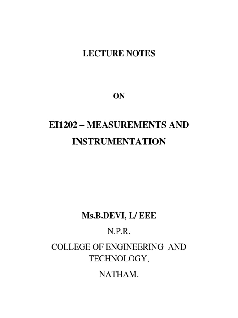 Measurements And Instrumentation Lecture Notes 199 Force Quartz Crystal Oscillator Circuit Automotivecircuit Physical Quantities