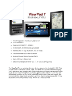 7 Inch Android Vpad7