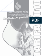 Tarifa General Grupo de Incendio s 2010