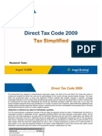 Direct Tax Code 2009