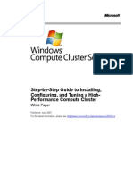 Compute Compute Cluster Deployment GuideCluster Deployment Guide
