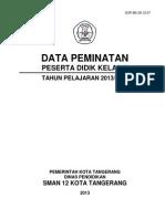 Buku Data Peminatan Guru Bk Sma Tp 2013 2014 Contoh