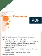 Financial Environment