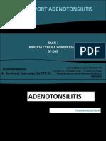 adenotonsilitis