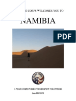 Peace Corps Namibia Welcome Book  |  June 2013 'CCD'
