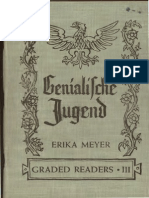 Graded German Reader - Genialische Jugend vol3- Learn German 1949 copyright expired