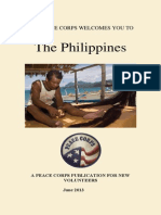 Peace Corps Philippines Welcome Book     June 2013 'CCD'