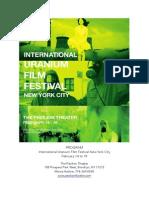 New York City Uranium Film Festival 2014 Program February 14 - 18