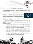 Estatutos Club Apache Medellín