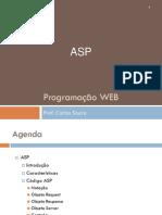 Aula 10 - Programação WEB - ASP