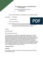 Public Prosecutor v Chong Shih Wai and Another - [2006] SGDC 268 (21 November 2006) - Clone Credit Card