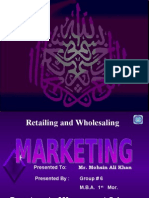Retailing & Whole Selling
