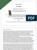 Biagio Cepollaro,Catalogo delle opere su tavola, n.2, 2009