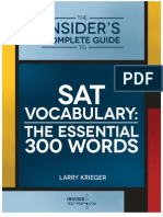 300 Most Essential Words