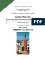 Código de Edificación - Folleto Nº3 - Prescripciones Edilicias