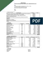 Presupuesto Cerco Unsa