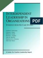 Interdependent Leadership