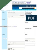 Markets Company Background Company Pro